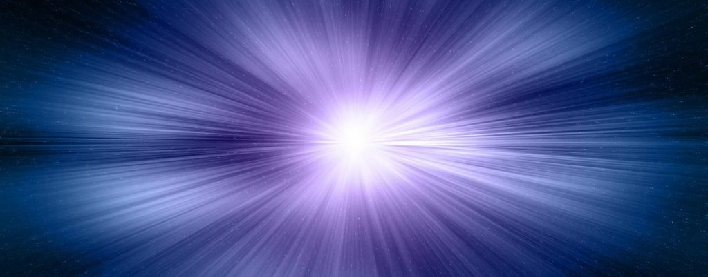 Philosophical Aspects of Simulation in Cosmology event image: abstract blue & purple light